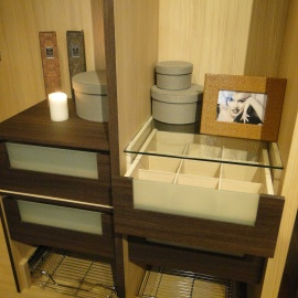Customized Racks + Drawer Compartment