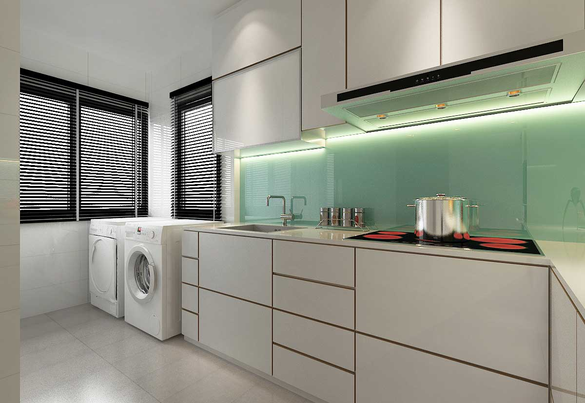Hdb interior design singapore top hdb renovation contractor for Kitchen designs singapore