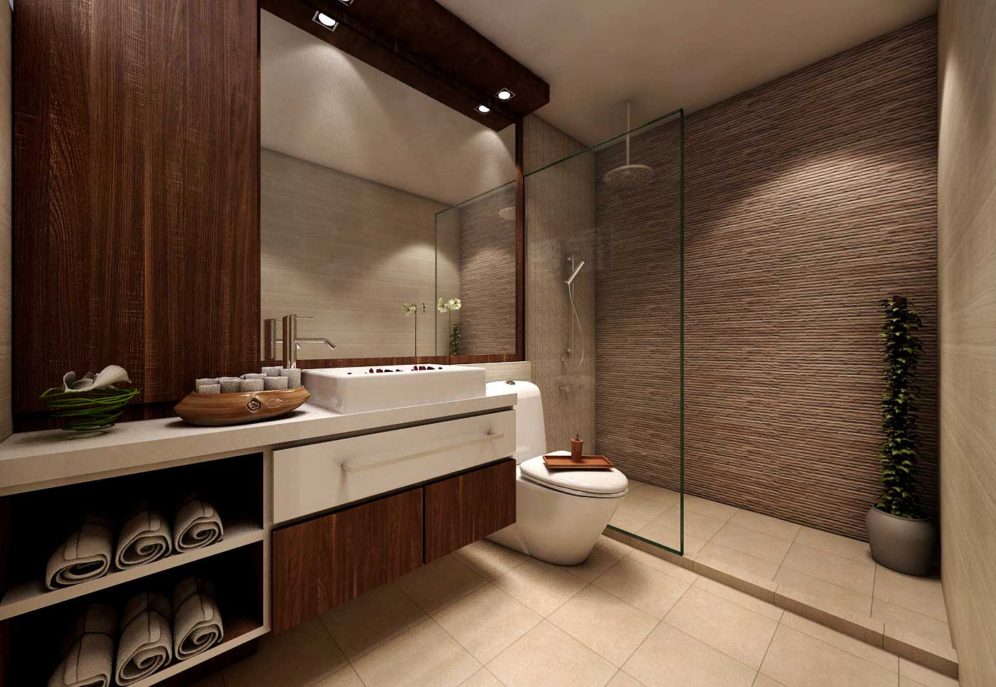 Mesmerizing 70 modern bathroom design singapore design for Popular bathroom decor