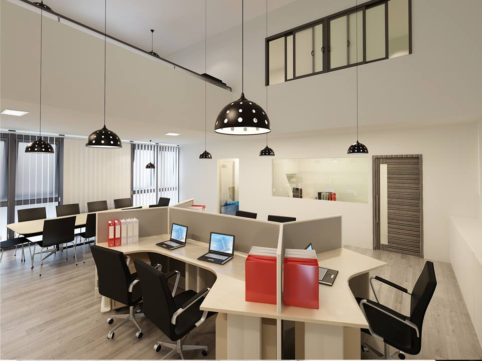Office renovation singapore office interior design firm for Office refurbishment